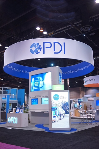 PDI displayed their new booth this year at NACS.